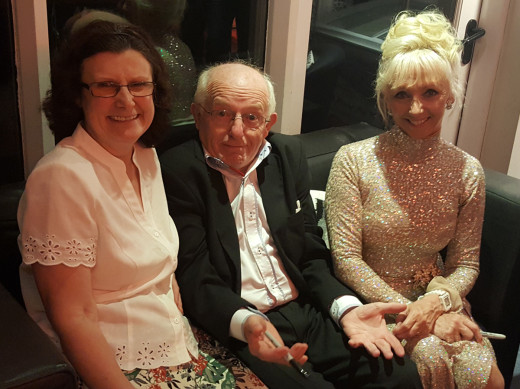 Jenny Daniels with Paul Daniels