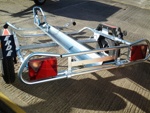 PM310 MOTORCYLE TRAILER