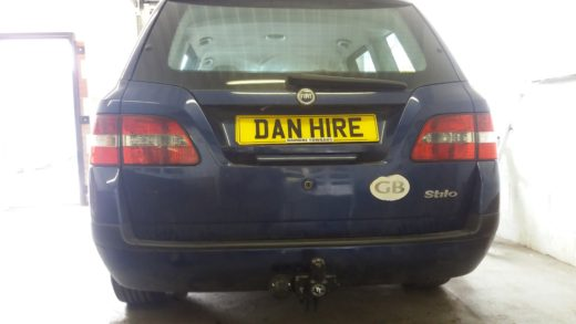 new towbar on  FIAT Estate